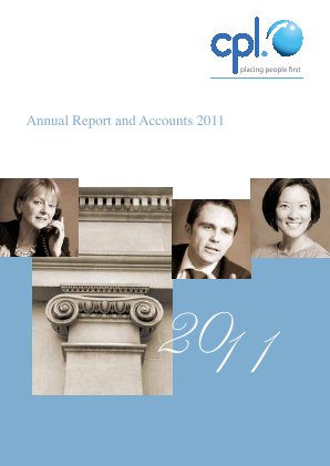 Cpl Resources annual report 2011