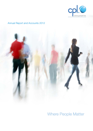 Cpl Resources annual report 2012
