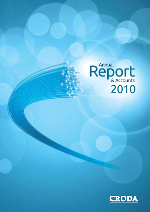 Croda International Plc annual report 2010