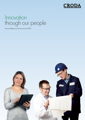 Croda International Plc annual report 2015