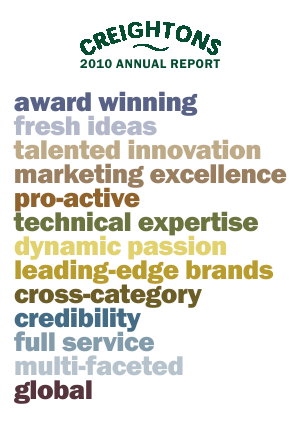 Creightons annual report 2010