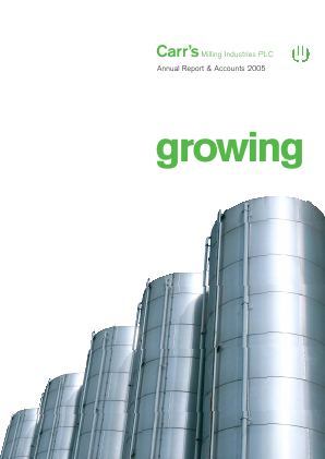 Carrs Group Plc annual report 2005