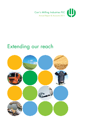 Carrs Group Plc annual report 2011