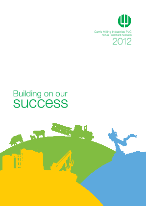 Carrs Group Plc annual report 2012