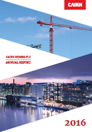 Cairn Homes Plc annual report 2016