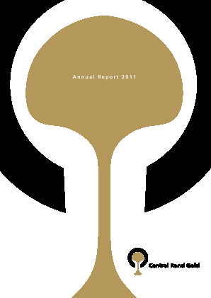 Central Rand Gold annual report 2011