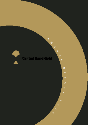 Central Rand Gold annual report 2013