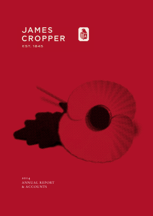 Cropper(James) annual report 2014