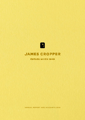 Cropper(James) annual report 2016