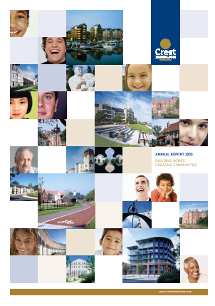 Crest Nicholson Holdings Plc annual report 2005