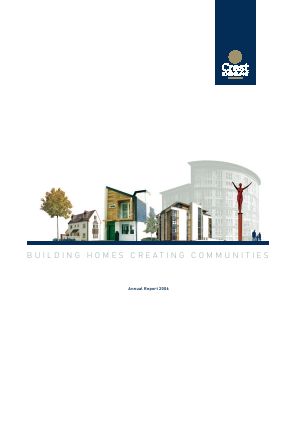 Crest Nicholson Holdings Plc annual report 2006