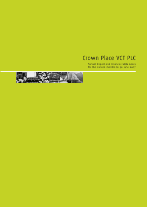 Crown Place VCT annual report 2007