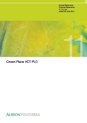 Crown Place VCT annual report 2011