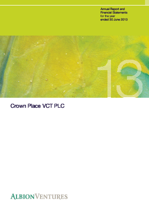 Crown Place VCT annual report 2013