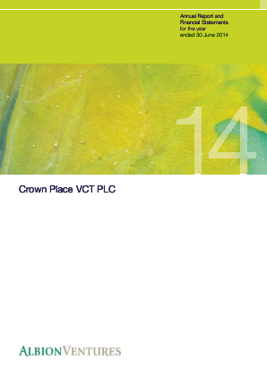 Crown Place VCT annual report 2014