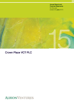 Crown Place VCT annual report 2015