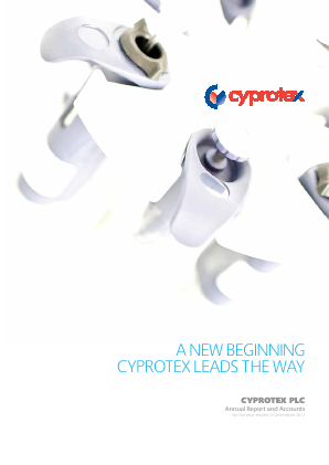 Cyprotex Plc annual report 2011