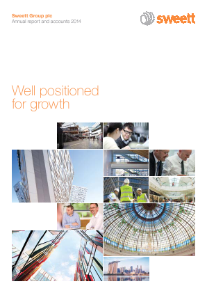 Sweett Group Plc annual report 2014