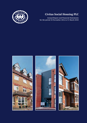Civitas Social Housing annual report 2018