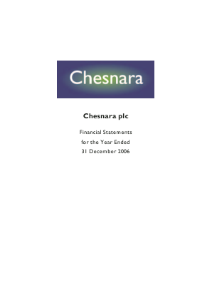 Chesnara annual report 2006