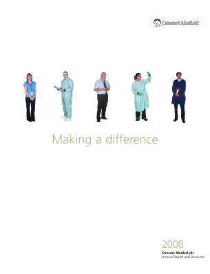 Consort Medical Plc annual report 2008