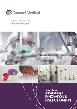 Consort Medical Plc annual report 2015