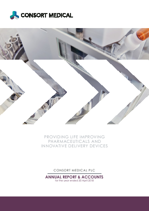 Consort Medical Plc annual report 2018