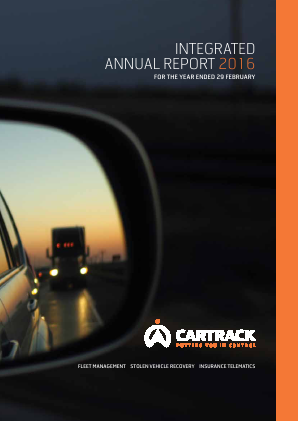 Cartrack Holdings annual report 2016