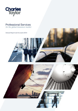 Charles Taylor Plc annual report 2014