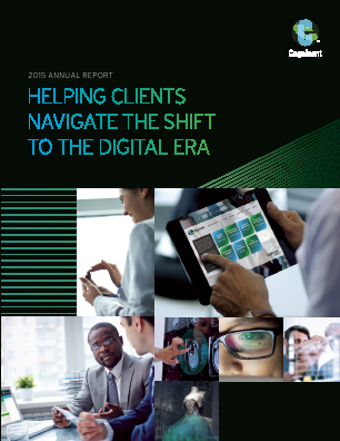 Cognizant Technology Solutions Corporation annual report 2015
