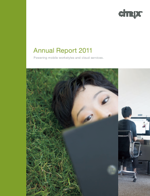Citrix Systems, Inc. annual report 2011
