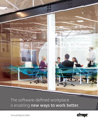 Citrix Systems, Inc. annual report 2014