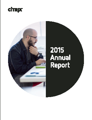 Citrix Systems, Inc. annual report 2015