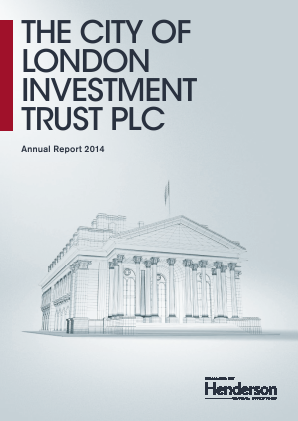 City Of London Investment Trust annual report 2014