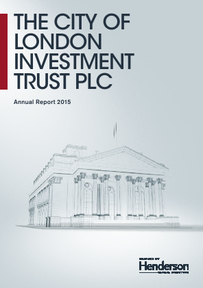 City Of London Investment Trust annual report 2015