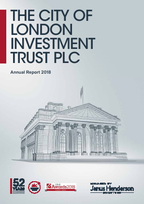 City Of London Investment Trust annual report 2018