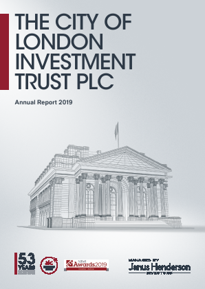 City Of London Investment Trust annual report 2019