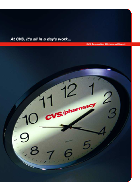 CVS Health annual report 2004