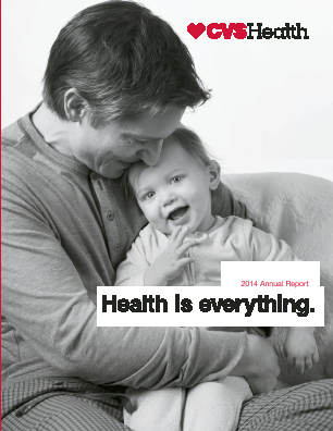 CVS Health annual report 2014