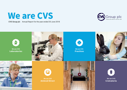 Cvs Group Plc annual report 2018