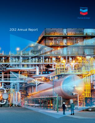 Chevron annual report 2012