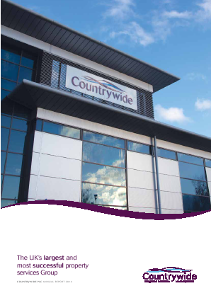 Countrywide Plc annual report 2014