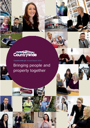Countrywide Plc annual report 2015