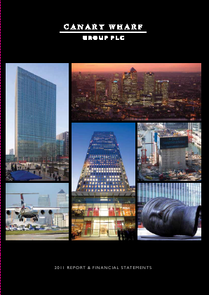 Canary Wharf Group annual report 2011
