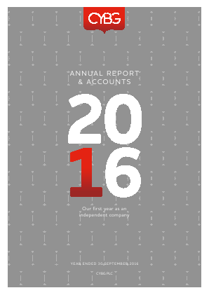 CYBG annual report 2016