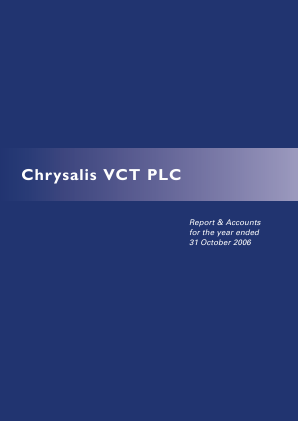 Chrysalis VCT annual report 2006