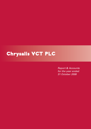 Chrysalis VCT annual report 2008