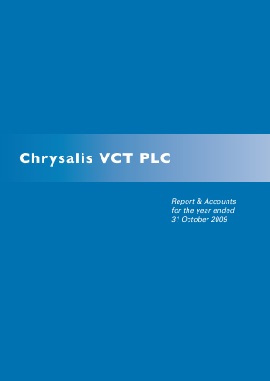 Chrysalis VCT annual report 2009
