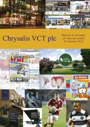 Chrysalis VCT annual report 2013