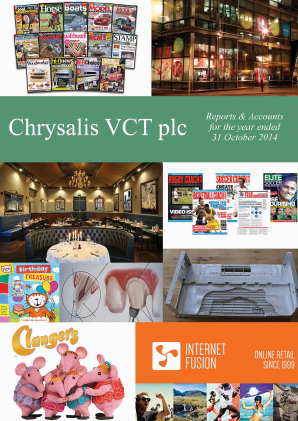Chrysalis VCT annual report 2014